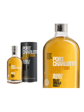 WHISKY PORT CHARLOTTE SCOTTISH BARLEY ÉTUI