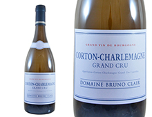DOMAINE BRUNO CLAIR CORTON-CHARLEMAGNE BLANC 2015