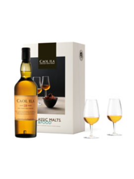 COFFRET MALTS AND FOOD WHISKY CAOL ILA RARE MALTS 18 ANS