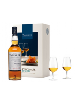COFFRET MALTS AND FOOD WHISKY TALISKER 57° NORTH