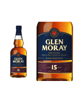WHISKY GLEN MORAY 15 ANS ÉTUI