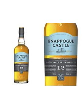 WHISKY KNAPPOGUE CASTLE 12 ANS ETUI