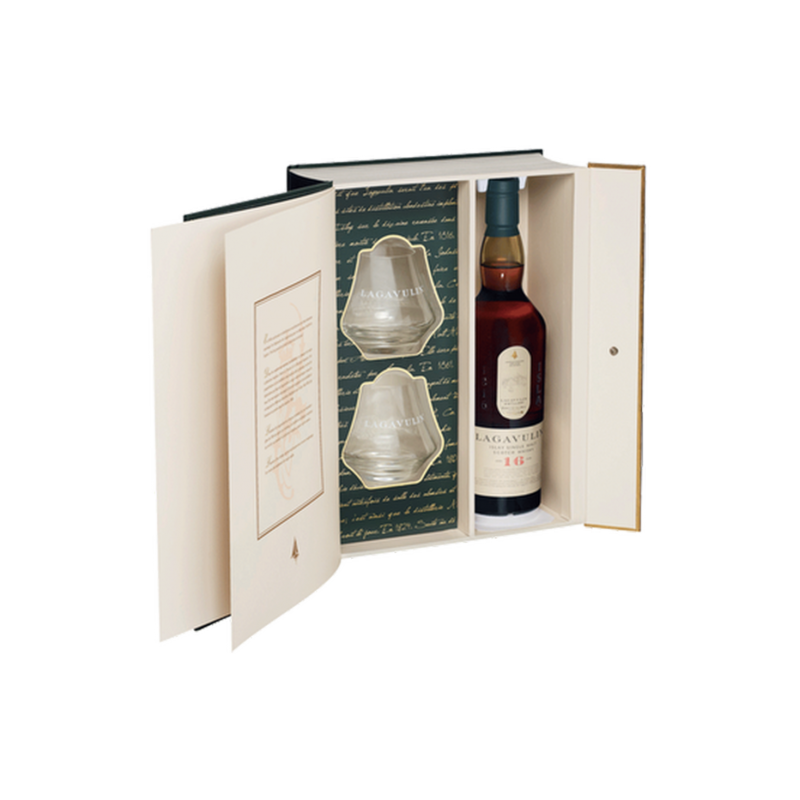 Lagavulin - Coffret 16 ans et single malt