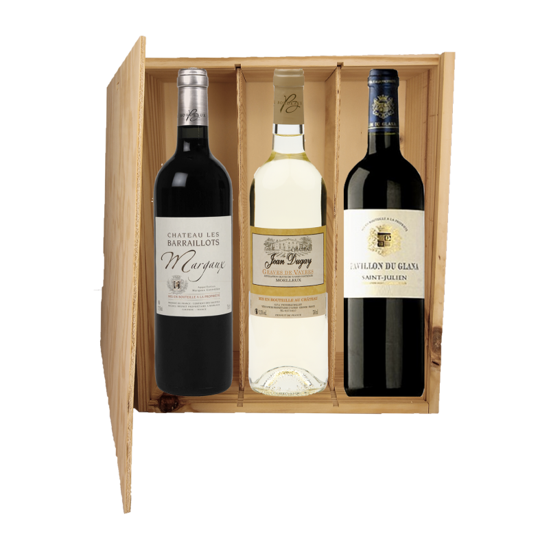 Coffret Bordeaux Raffinement